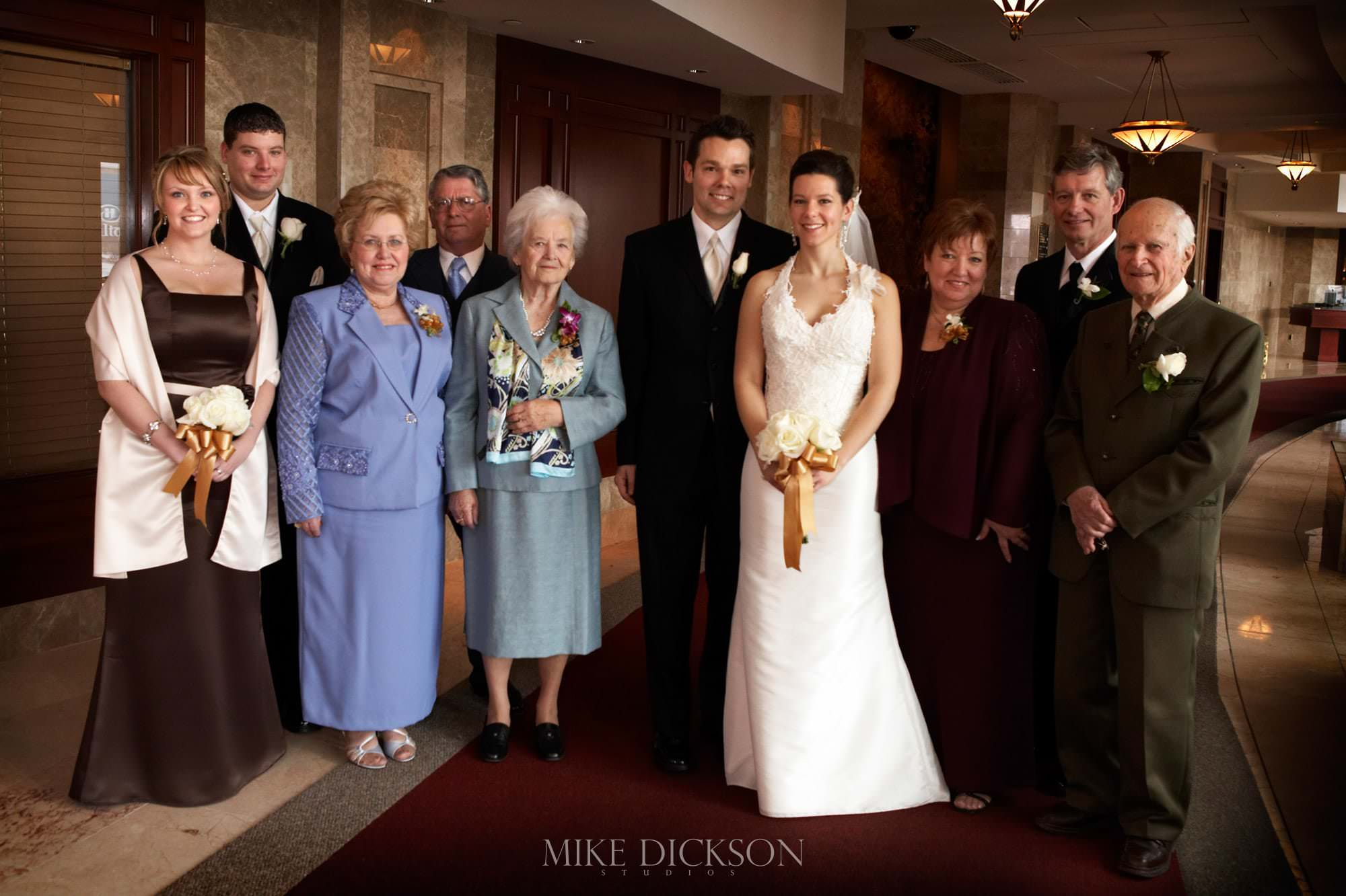 Family, Gatineau, Hilton Lac Leamy, Quebec, Spring, Wedding, © Mike Dickson