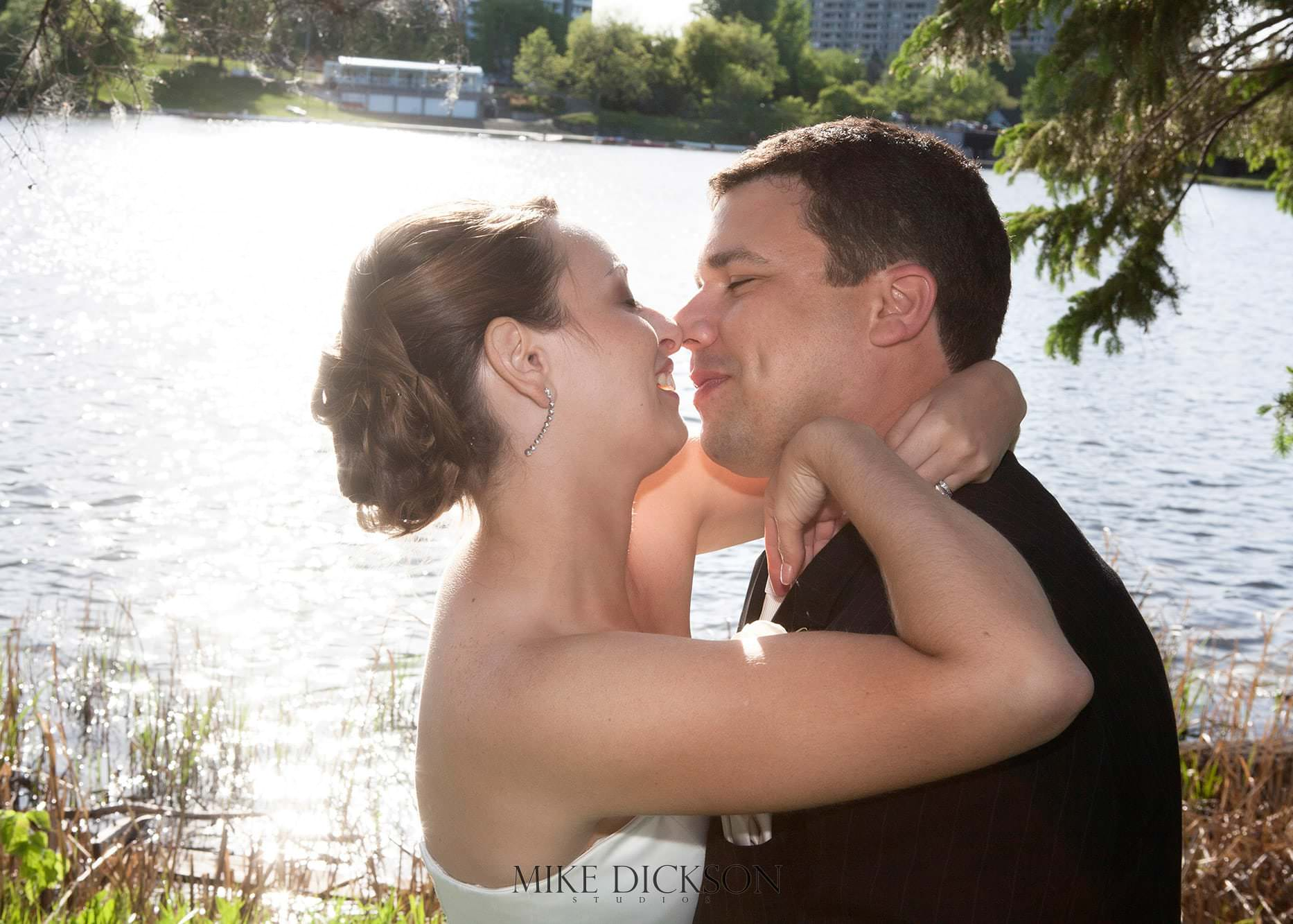 Mooney's Bay, Ontario, Ottawa, Spring, Wedding, © Mike Dickson