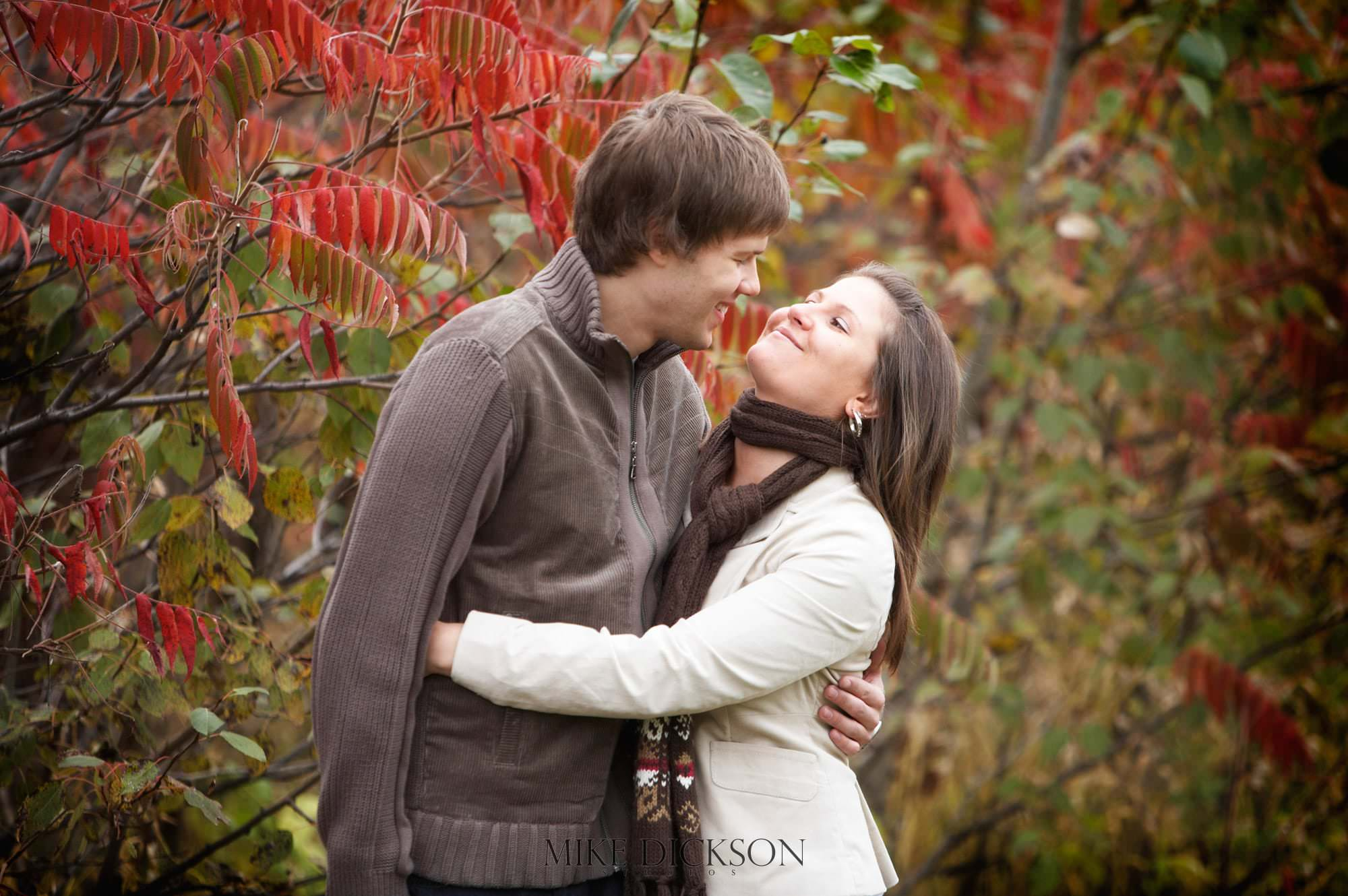 Arbouretum, Autumn, Engagement, Fall, Ontario, Ottawa, © Mike Dickson