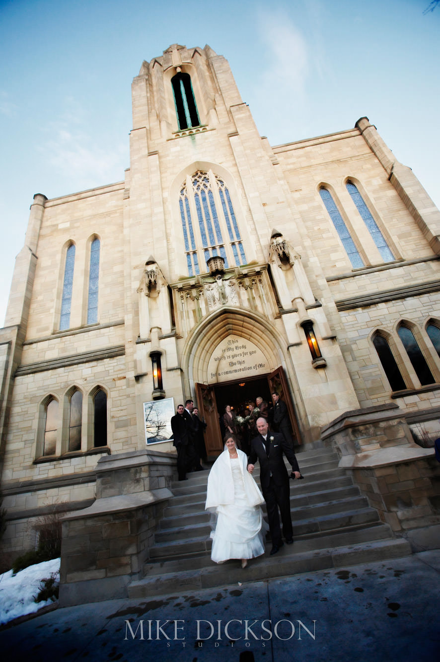 Blessed Sacrament, Ceremony, Ontario, Ottawa, Wedding, Winter, © Mike Dickson