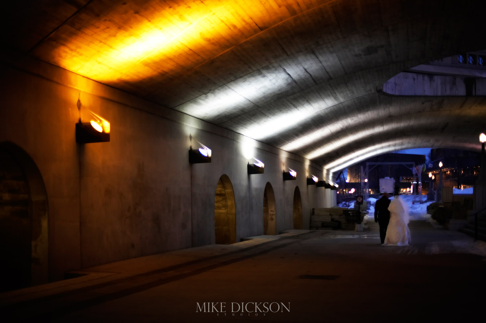 Byward Market, Magic, Ontario, Ottawa, Wedding, Winter, © Mike Dickson