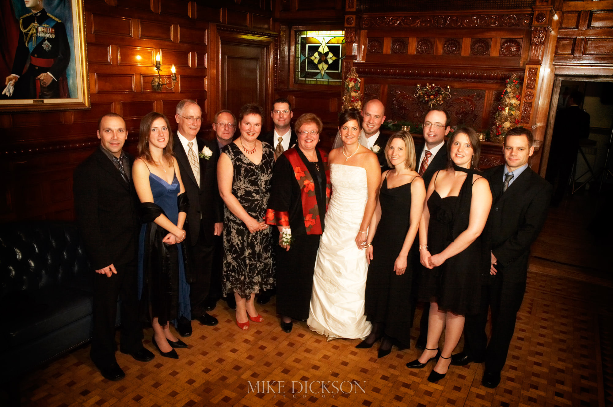 Family, Officer's Mess, Ontario, Ottawa, Wedding, Winter, © Mike Dickson