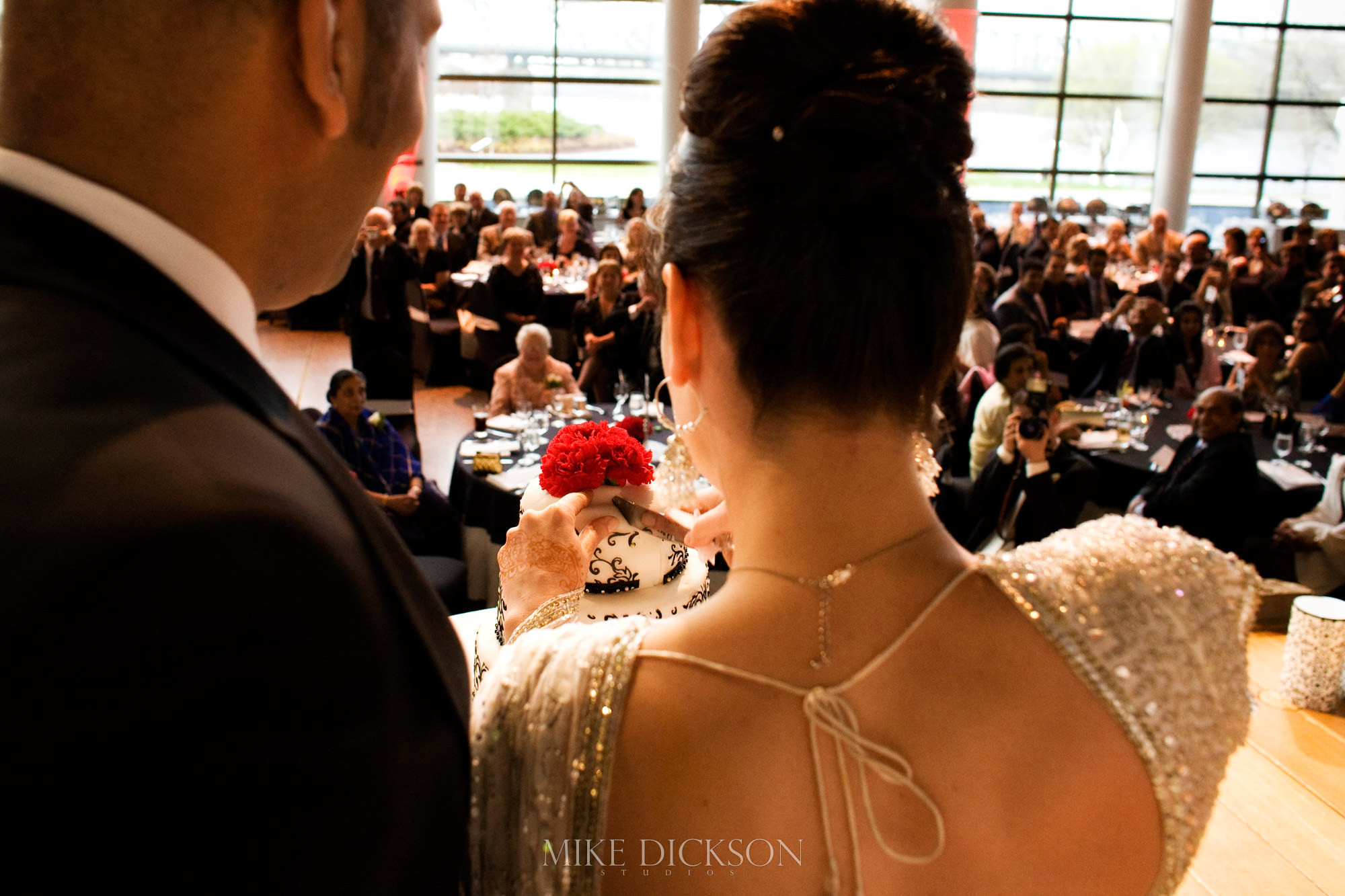 Ceremony, Gatineau, Museum of History, Quebec, Wedding, Winter, © Mike Dickson
