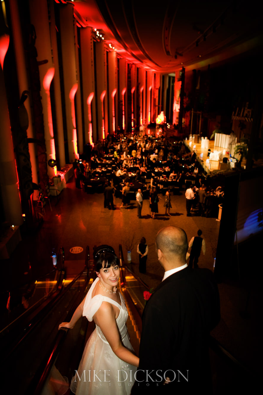 Gatineau, Magic, Museum of History, Quebec, Wedding, Winter, © Mike Dickson