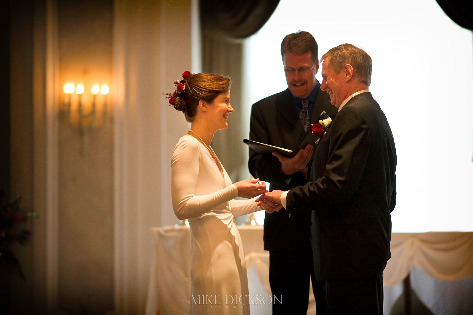 Ceremony, Chateau Laurier, Ontario, Ottawa, Wedding, © Mike Dickson