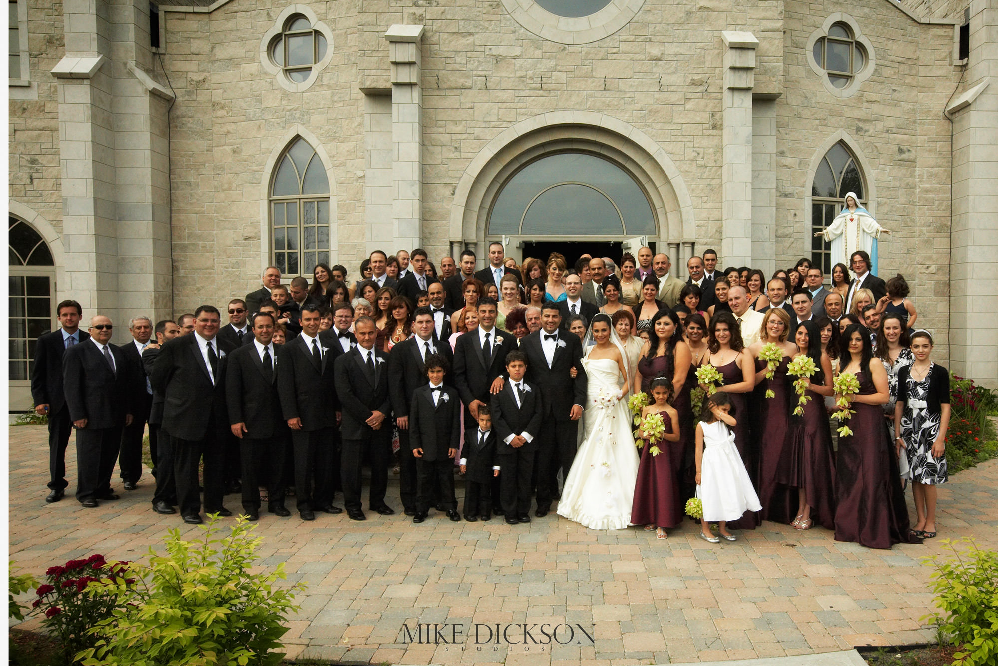 Ceremony, Ontario, Ottawa, St Charbel Church, Summer, Wedding, © Mike Dickson