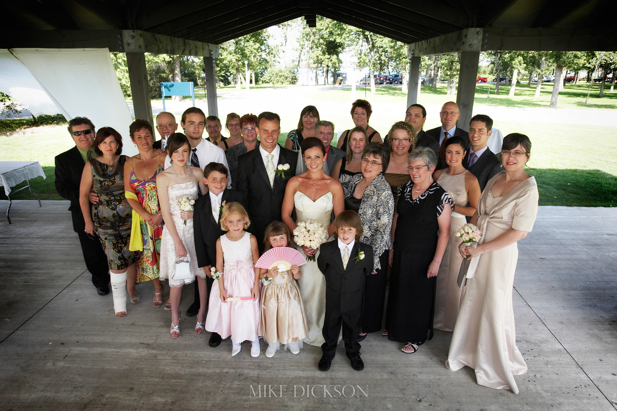Bate Island, Family, Ontario, Ottawa, Summer, Wedding, © Mike Dickson