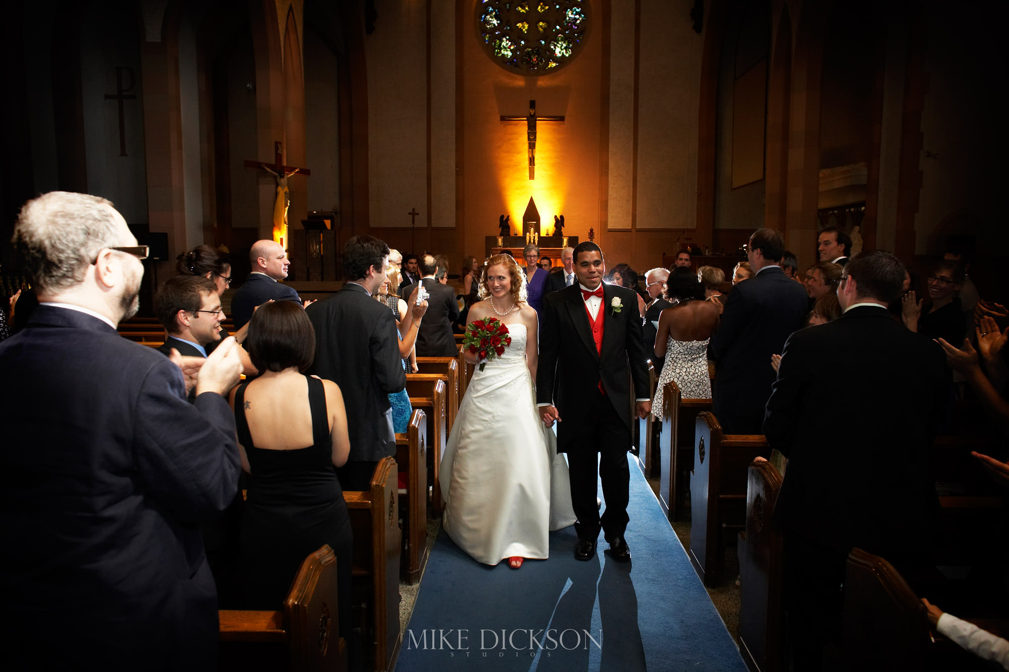 Autumn, Blessed Sacrament, Ceremony, Fall, Ontario, Ottawa, Wedding, © Mike Dickson