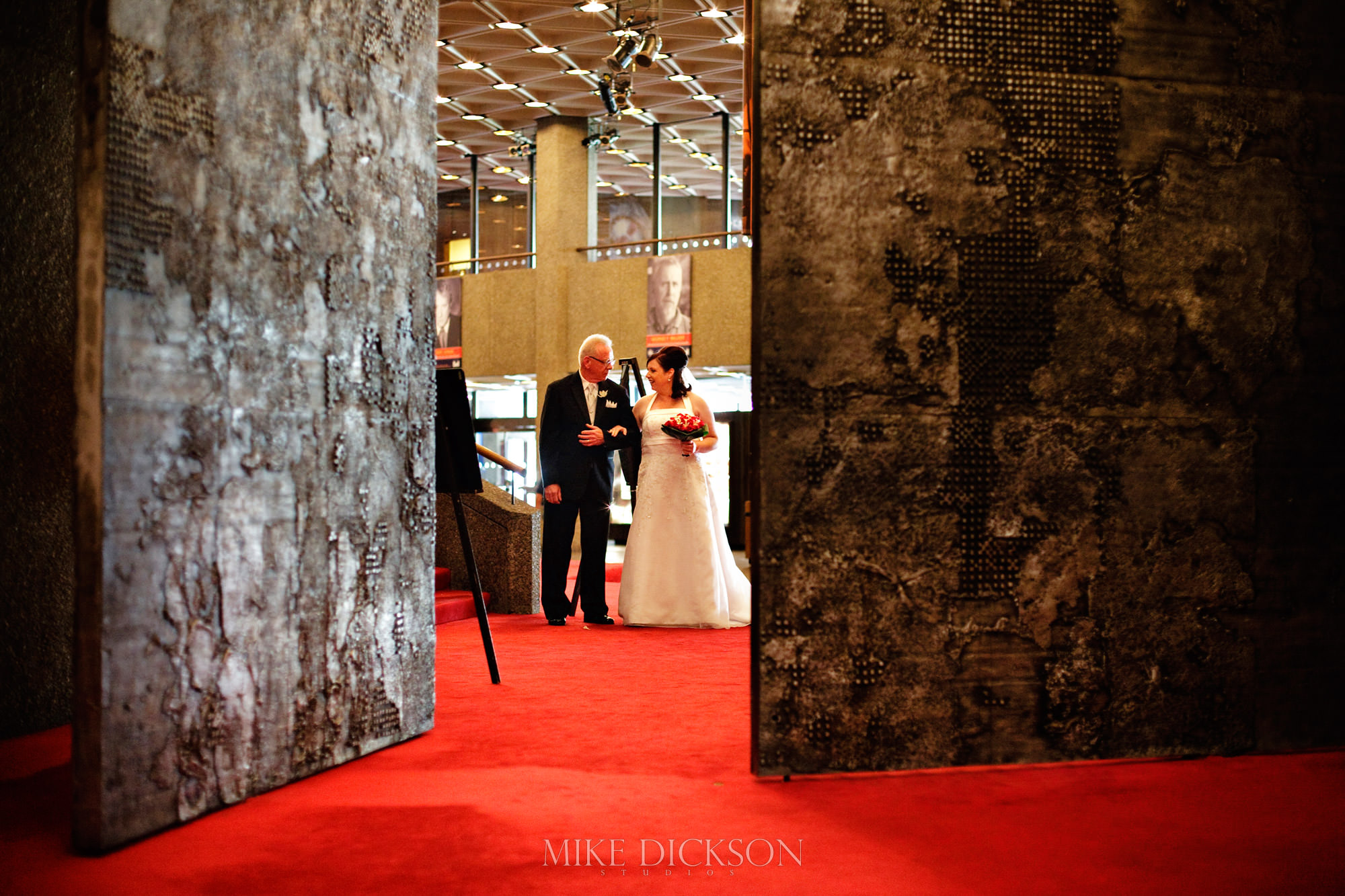 Ceremony, National Arts Centre, Ontario, Ottawa, Salon, Summer, Wedding, © Mike Dickson