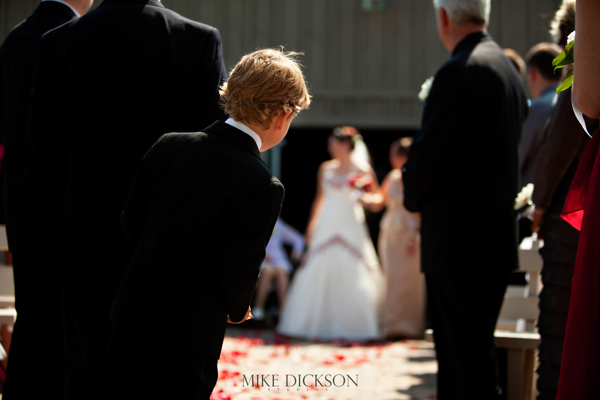 Ceremony, Ontario, Ottawa, Summer, Wedding, © Mike Dickson