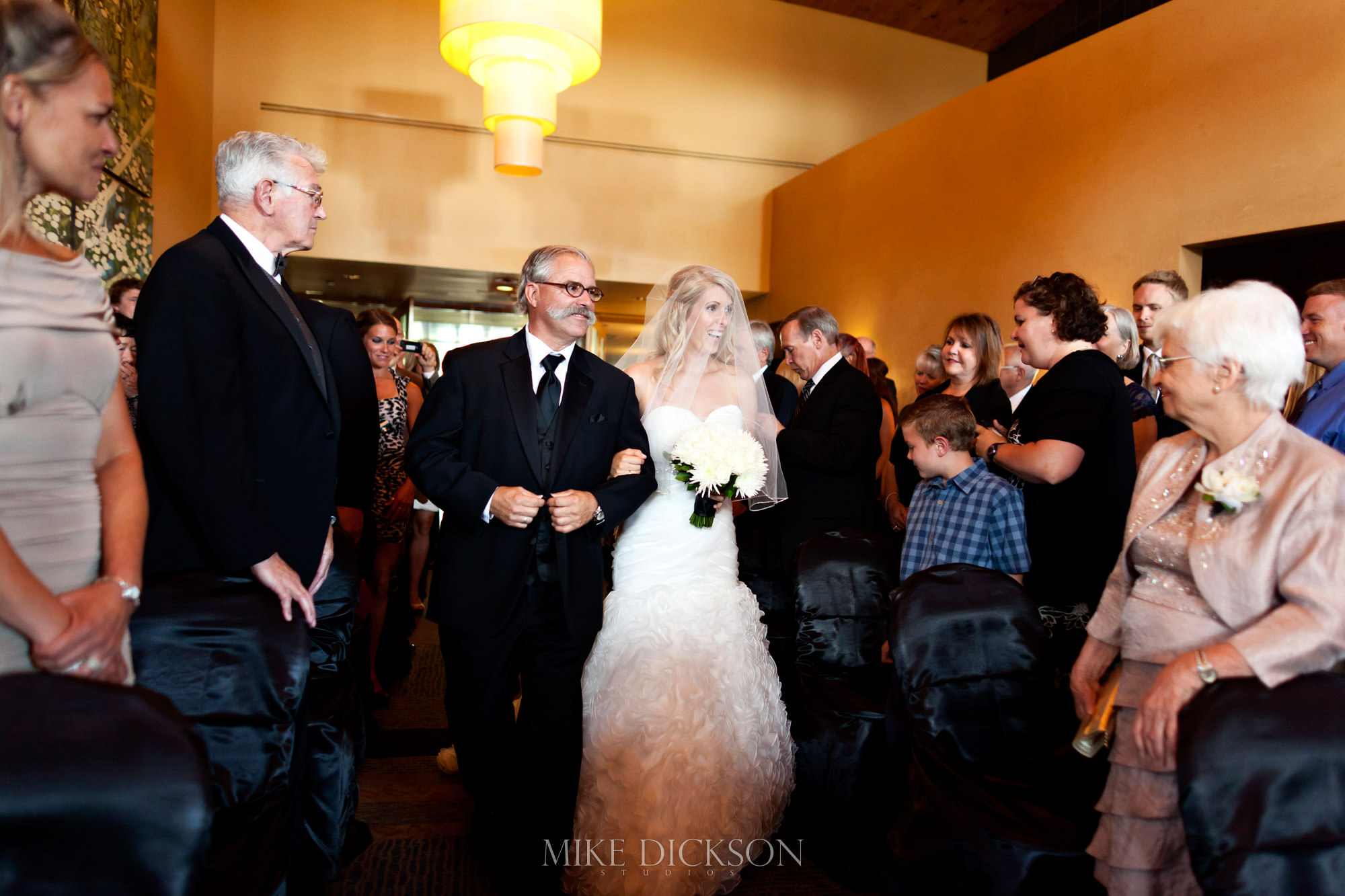 Ceremony, Marshes Golf Club, Ontario, Ottawa, Summer, Wedding, © Mike Dickson