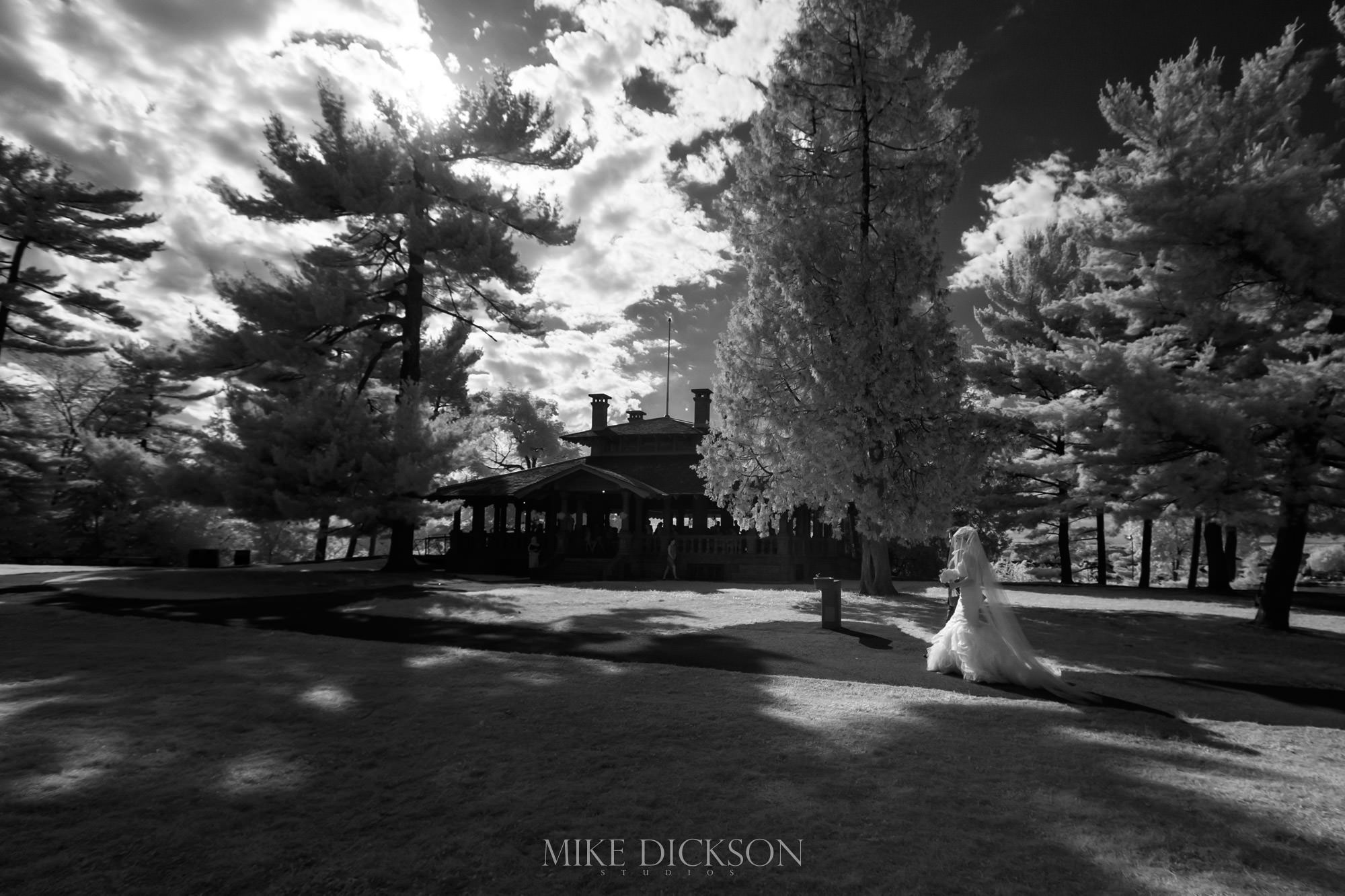 Ceremony, Infrared, Ontario, Ottawa, Photography, Rockliffe Pavillion, Summer, Time of Year, Venue, Wedding, © Mike Dickson