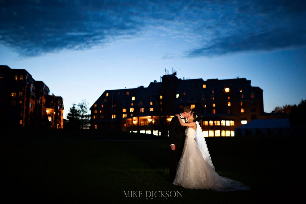 Melissa + Matt's Wedding at the Chateau Cartier