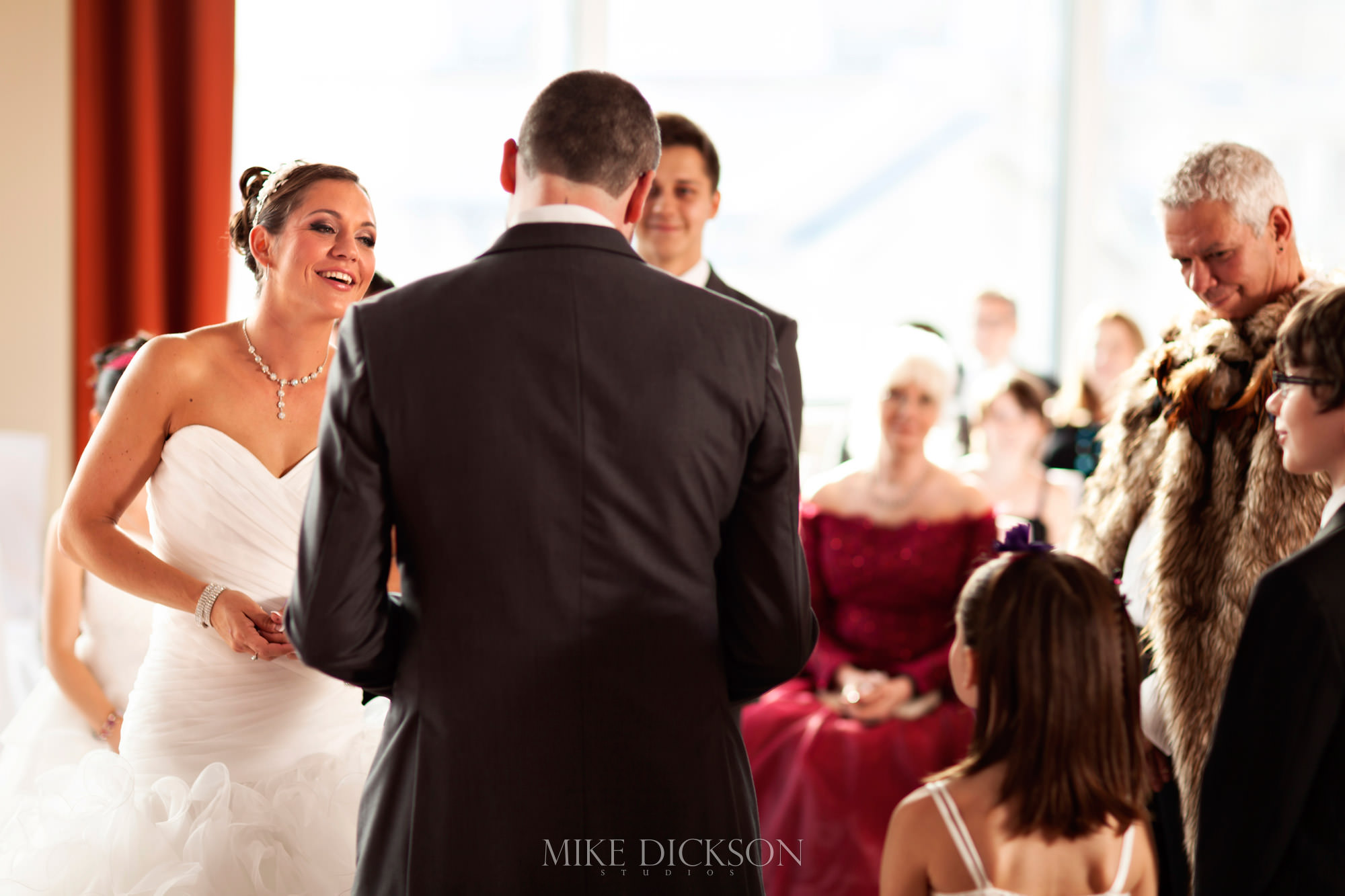 Ceremony, Ontario, Ottawa, Summer, Wedding, Westin Hotel, © Mike Dickson
